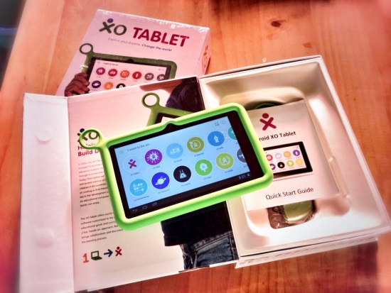 The XO Tablet - first impressions